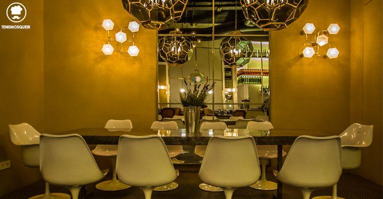 A Restaurante El Escondite de Villanueva Tenemosqueir Madrid Mesa