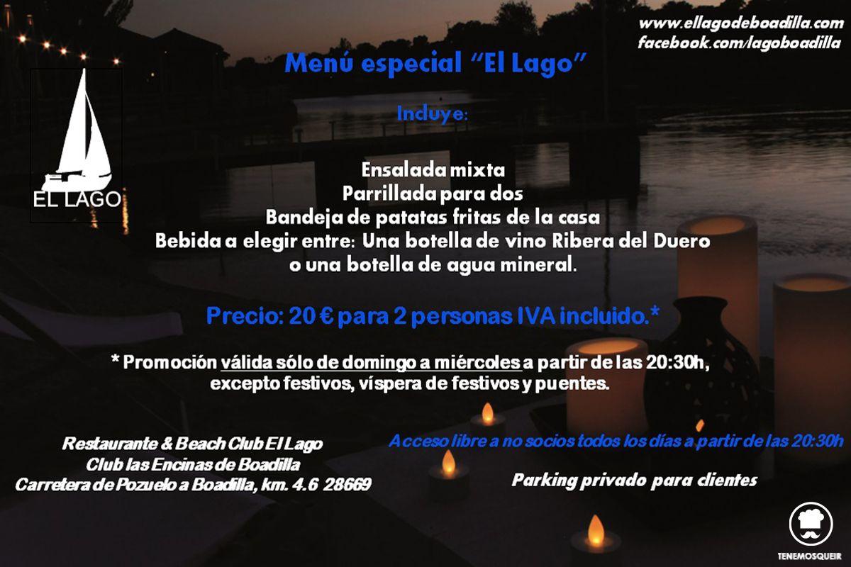 A Restaurante El Lago Boadilla Beach ClubTenemosqueir Madrid Carta