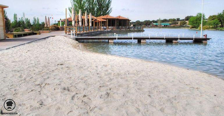 A Restaurante El Lago Boadilla Beach ClubTenemosqueir Madrid Terraza Playa