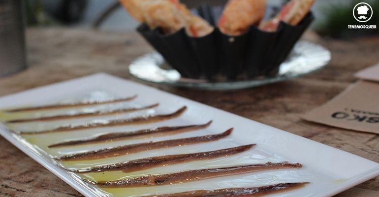 Anchoas Restaurante El Kiosko Pozuelo Madrid