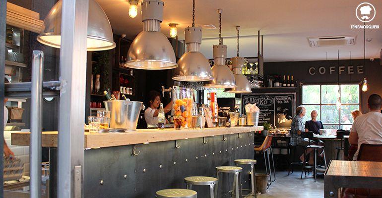 Interior Restaurante El Kiosko Pozuelo Madrid