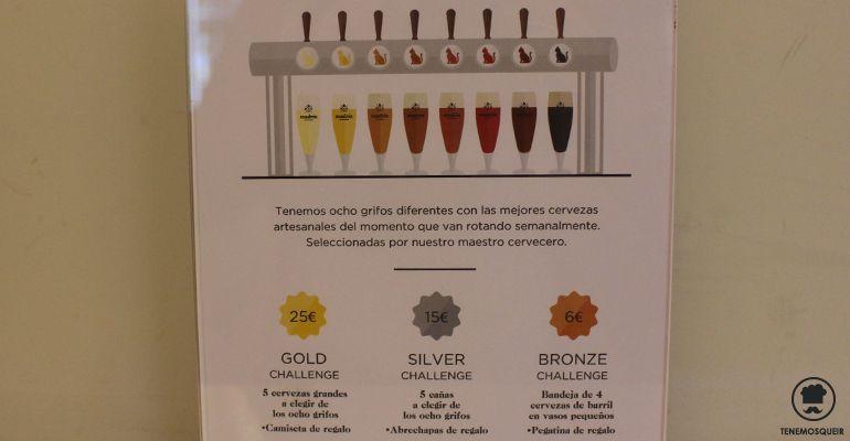Retos Madriz Cervezas Artesanas Hop Republic Madrid Tenemosqueir