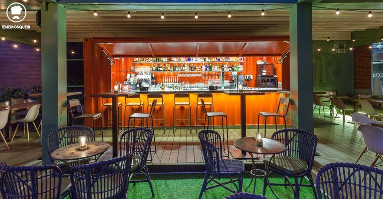 Barra Farruca Bar Terraza Arturo Soria Plaza MAdrid Tenemosqueir