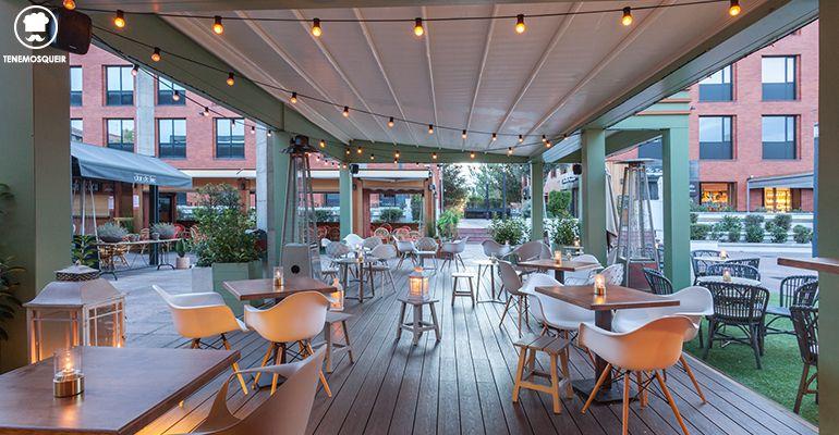 Terraza Farruca Bar Terraza Arturo Soria Plaza MAdrid Tenemosqueir