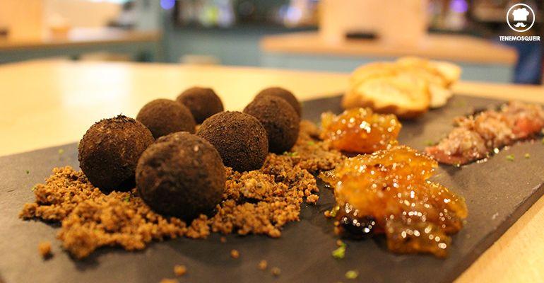 Foie con Confitura de Naranja El Reloj de Arena Restaurante Madrid Tenemosqueir