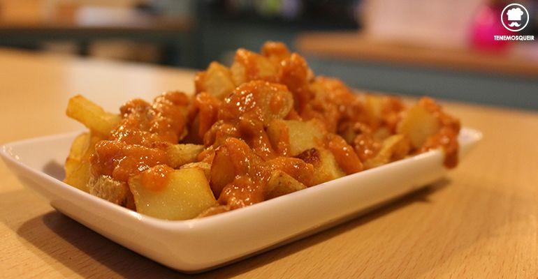 Patatas Mojo El Reloj de Arena Madrid Restaurante Tenemosqueir