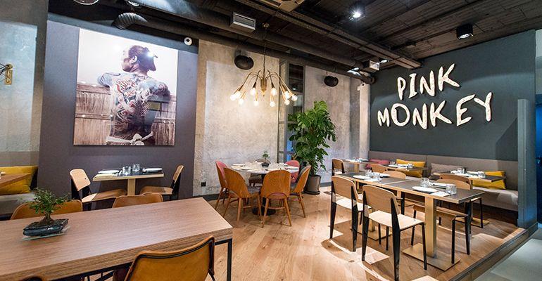 Decoracion Pink Monkey Restaurante Madrid Tenemosqueir