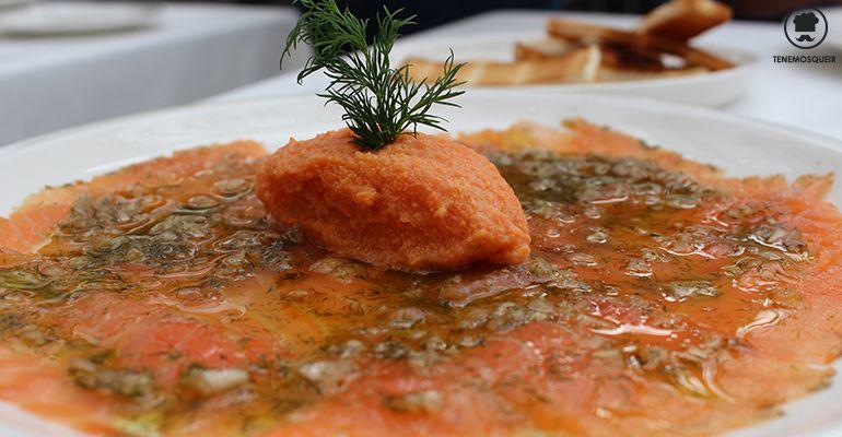 Salmon El Invernadero de los Penotes La Moraleja Madrid Tenemsoqueir