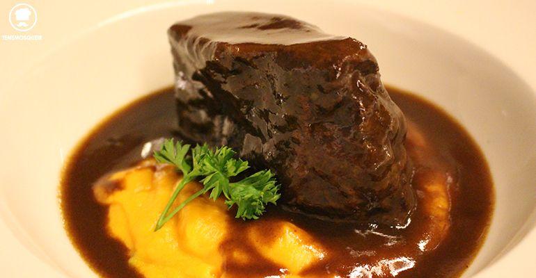 Carrillada con Batata Carta Restaurante Diferent Madrid Tenemosqueir