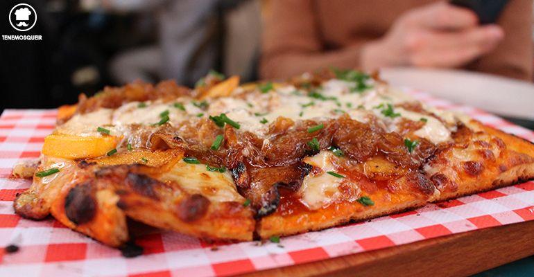 Pizzeta de Calabaza El Patio del Fisgon Madrid Tenemosqueir
