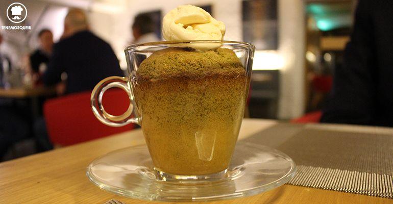 Sufle de Pistacho Restaurante Diferent Madrid Tenemosqueir