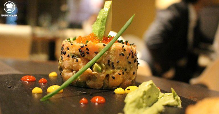 Tartar Salmon Restaurante Kotte Madrid Tenemosqueir