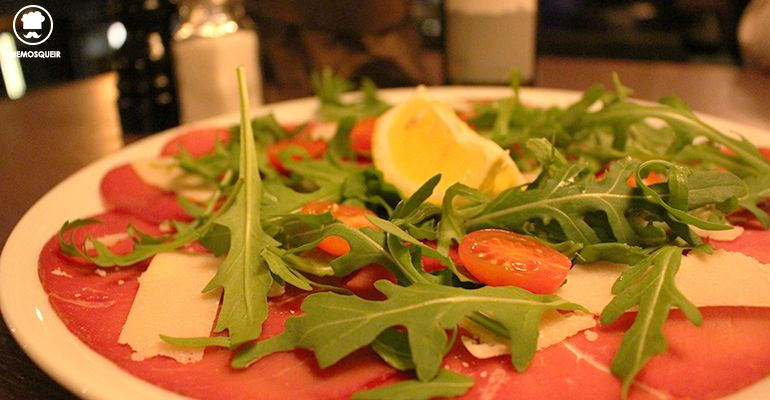 Carpaccio Flavia Restaurante Italiano Madrid Tenemosqueir
