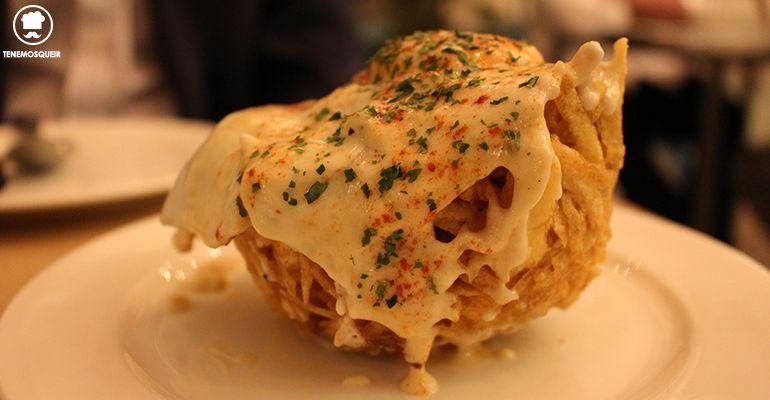 Nido de Patata Restaurante Saporem Chueca Madrid Tenemosqueir