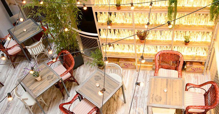 Restaurante Saporem Chueca Madrid Terraza Tenemosqueir