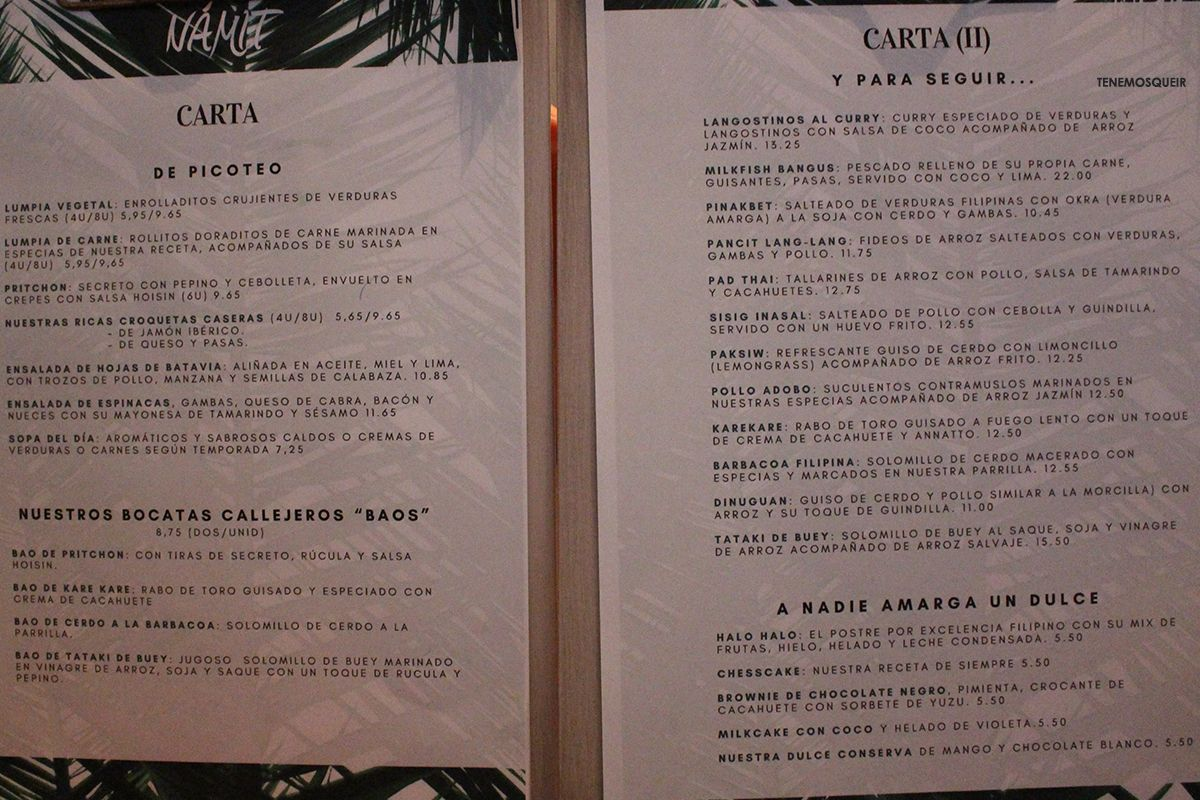 namit-restaurante-filipino-madrid-carta