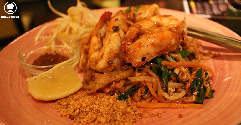 Pad Thai Baiyor Thai Restaurante Thailandes Malasana Madrid