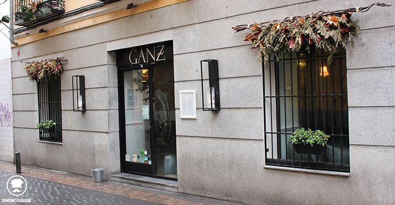 Calle Restaurante Ganz Madrid Tenemosqueir