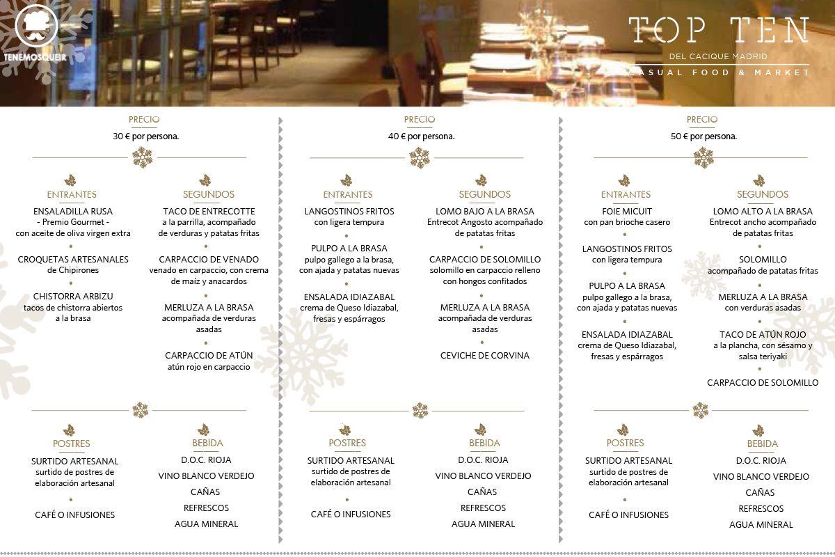 20 restaurantes para celebrar la cena de navidad tenemos - Restaurantes madrid navidad ...