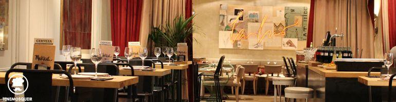 Al Restaurante Bar de Pinchos Makkila Madrid Tenemosqueir