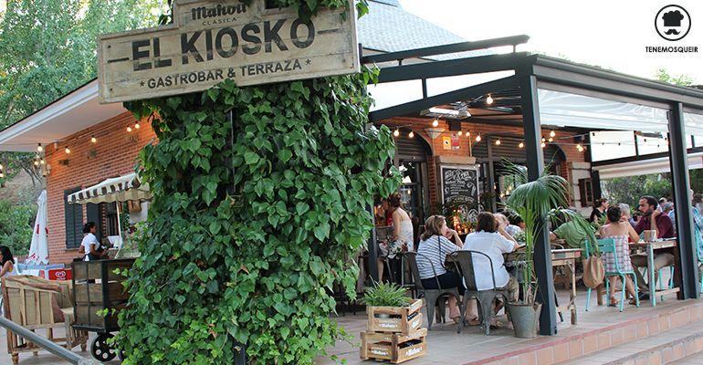 El kiosko un oasis en pozuelo tenemos que ir for Restaurantes con terraza madrid