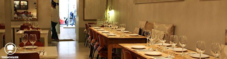 Restaurante Clarita Tenemosqueir Madrid
