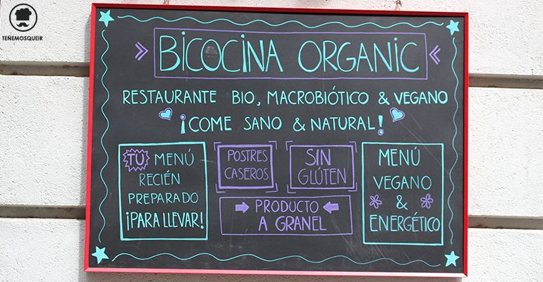 Bicocina Restaurante Macrobiotico Madrid Vegano Tenemosqueir