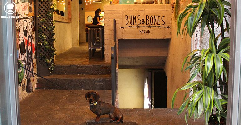 Dog Friendly Poke Restaurante Buns And Bones Madrid Baos Tenemosqueir